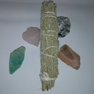 Back  In Stock New Healing Smudge Stick